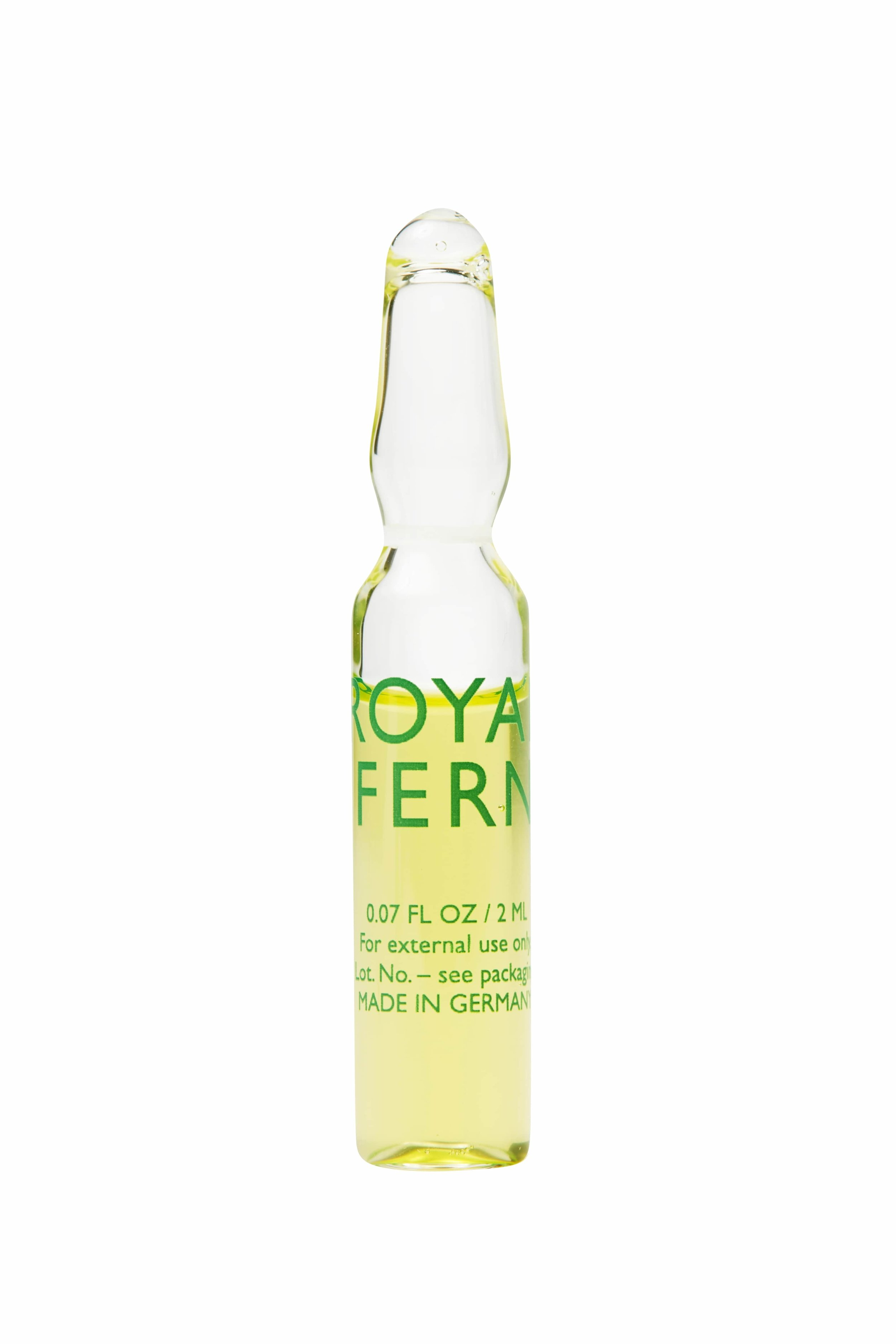 Royal Fern Phytoactive Anti-Oxidative Ampoules, Available at Olivela