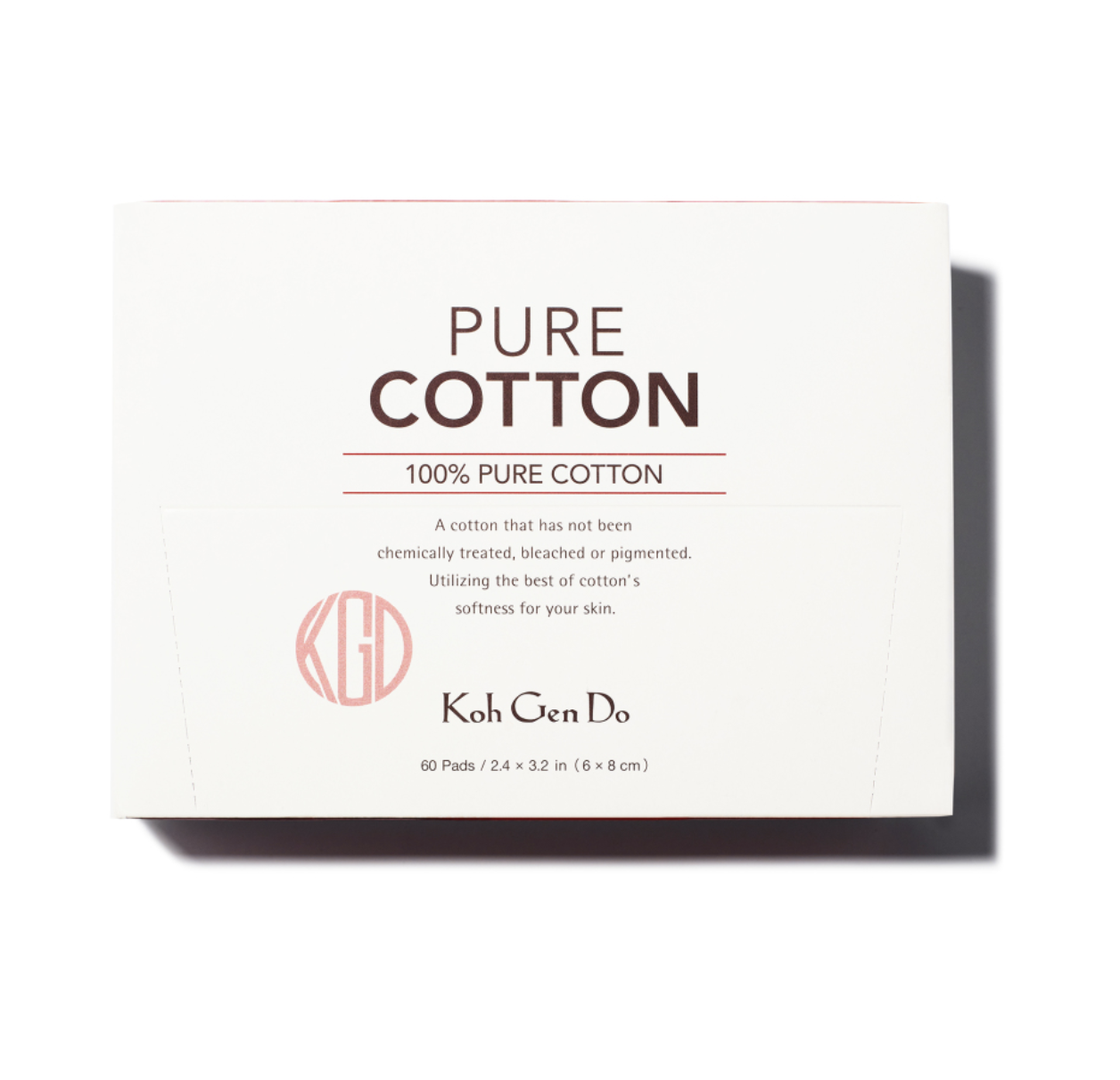 Koh Gen Do Pure Cotten Pads, Available at Koh Gen Cosmetics