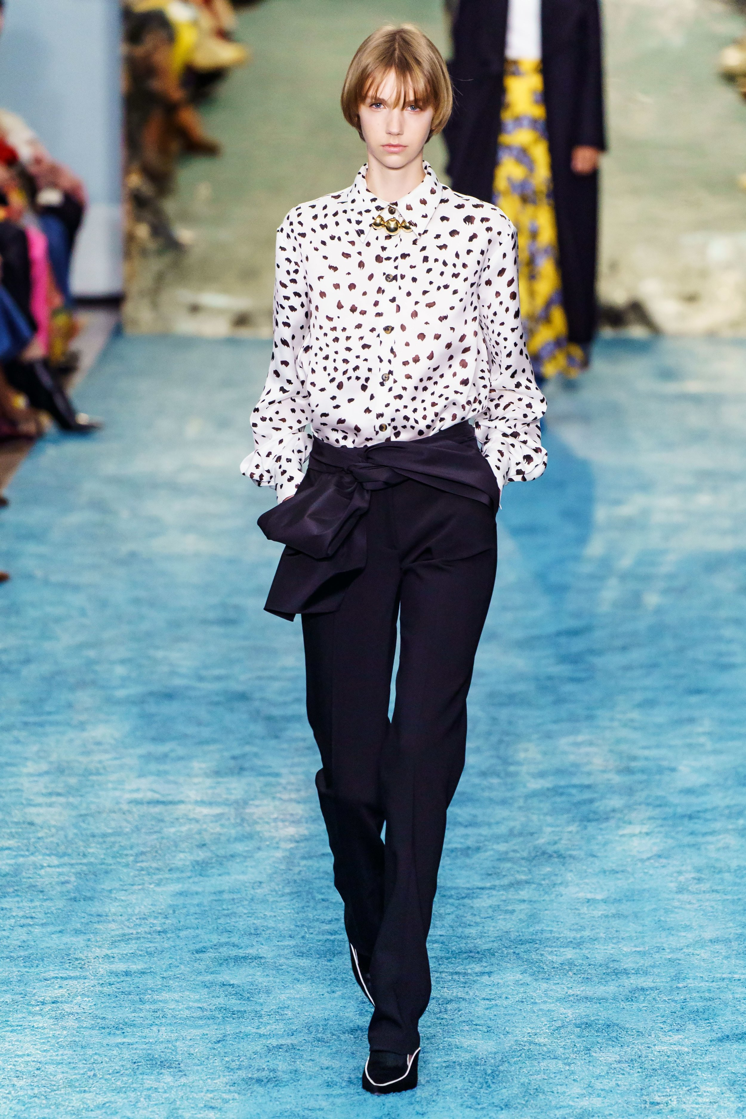 CAROLINA HERRERA, COURTESY VOGUE RUNWAY