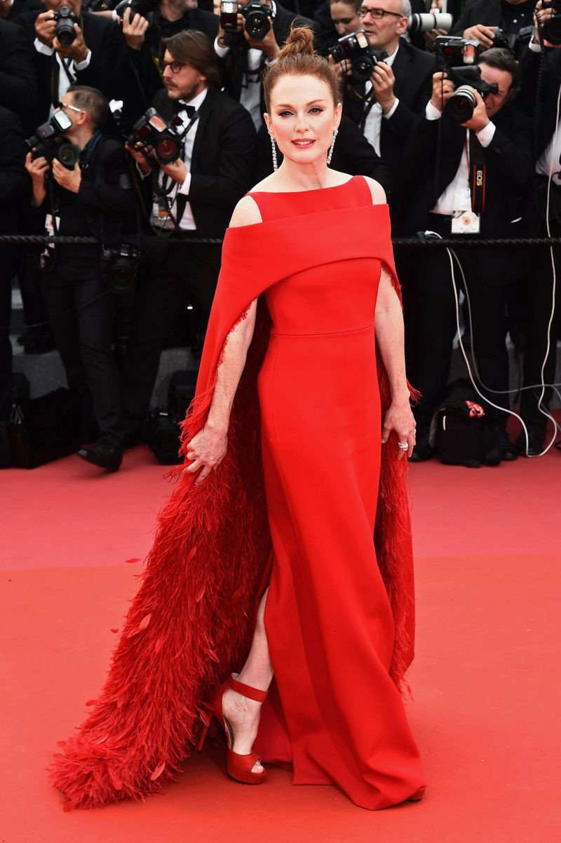 Julienne Moore, Cannes 2018 in Gievnchy