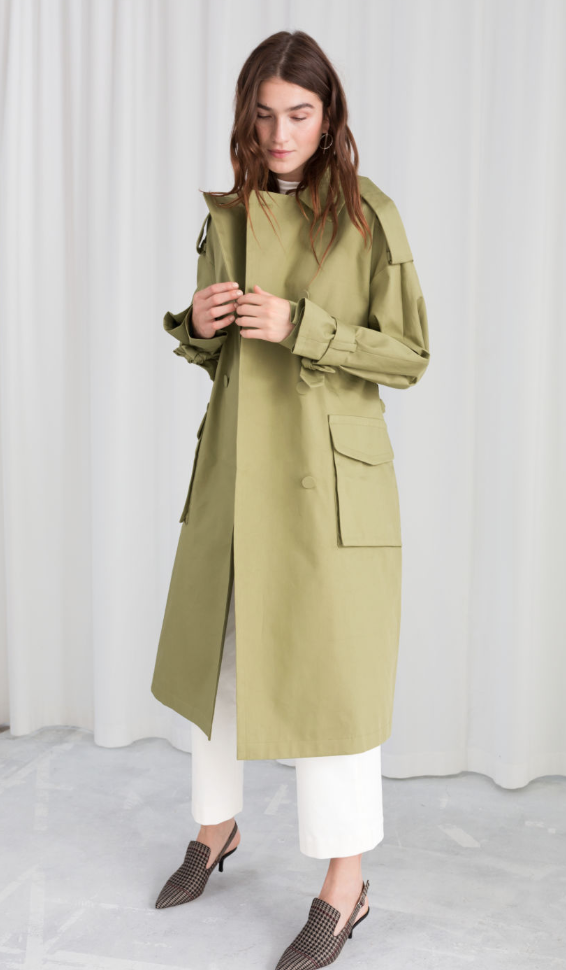 & OTHER STORIES Oversized Belted Trenchcoat, AVAILABLE AT &OTHERSTORIES