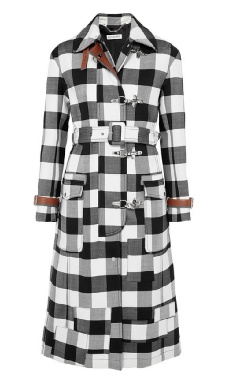 ALTUZARRA Agrippina checked wool-blend coat, AVAILABLE AT NET-A-PORTER
