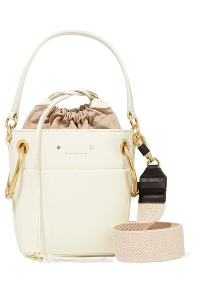 CHLOERoy mini leather bucket bag, available at net-a-porter