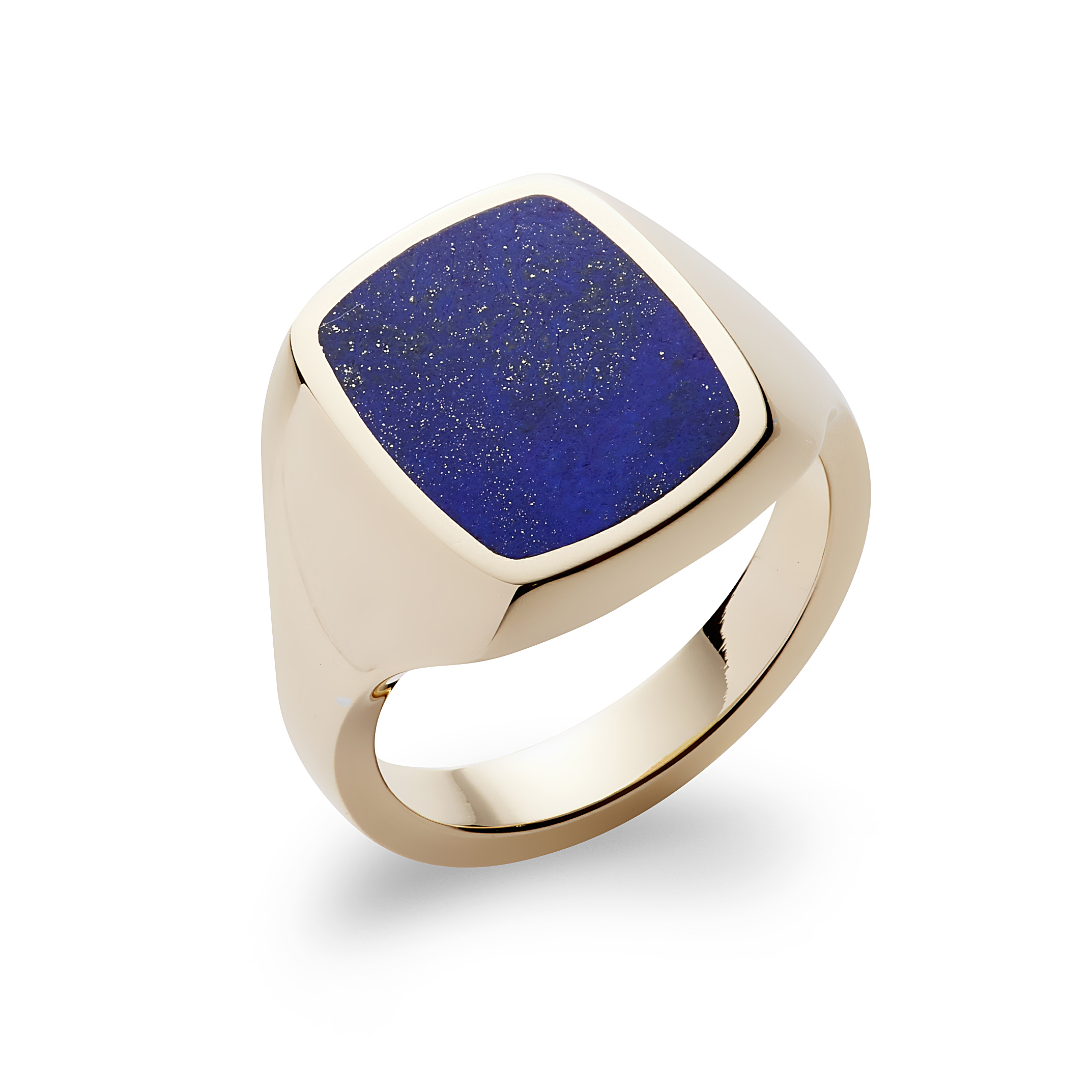 REBUS STONE SET CUSHION SIGNET RING, AVAILABLE AT REBUS