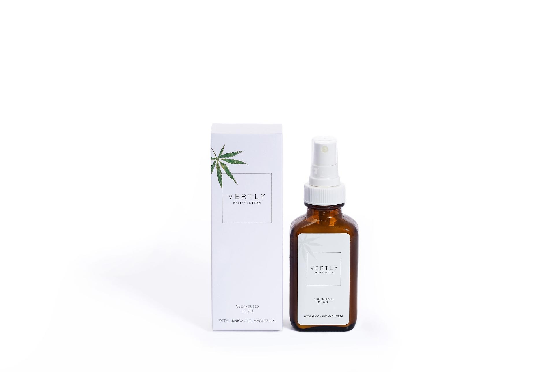 Vertly Hemp CBD Infused Relief Lotion