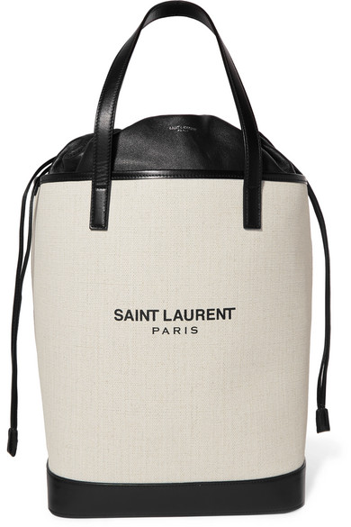 Saint Laurent Teddy canvas tote.jpg