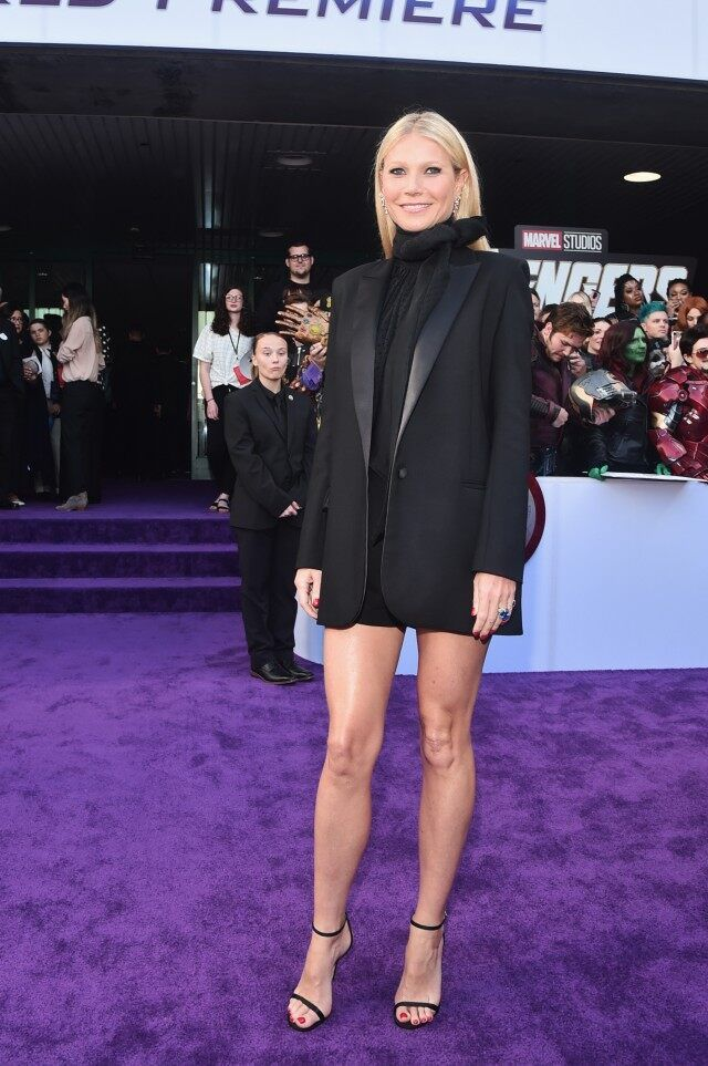 GWYNETH PALTROW in Glabel at Avengers Endgame Premiere.jpg