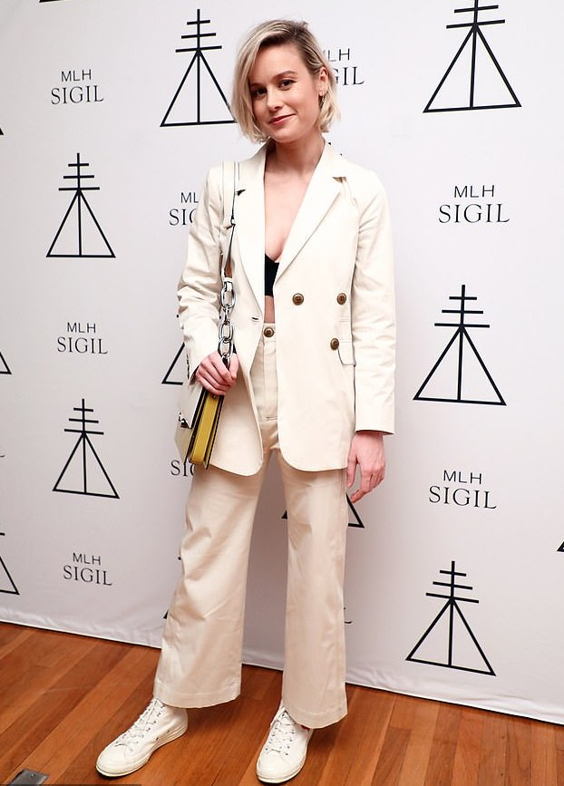 Brie Larson in Sea NYC at Melinda Lee Holm's Sigil Fragrance Launch Party.jpg