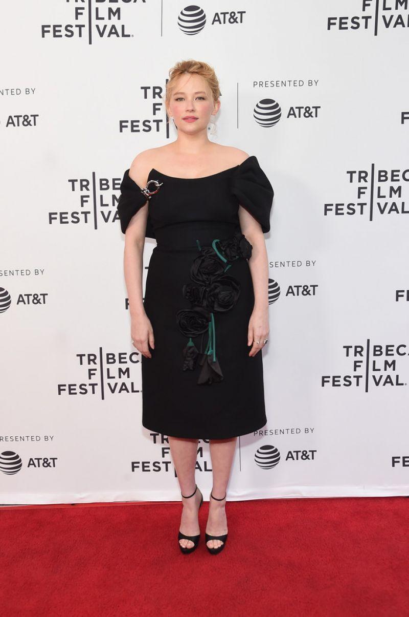 Haley Bennett in Prada at 'Swallow' screening at 2019 Tribeca Film Festival.jpg