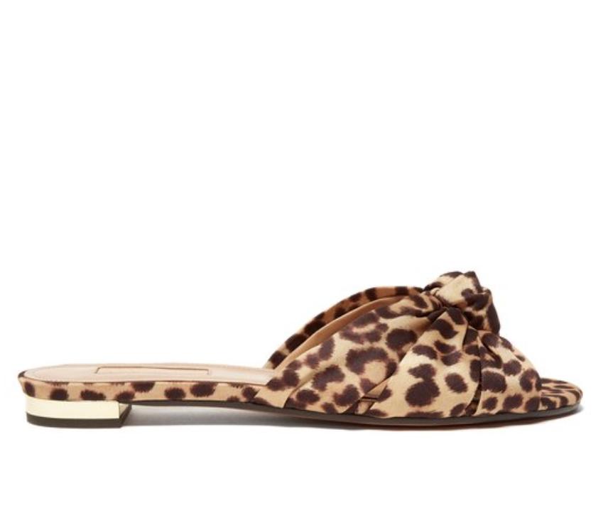 AQUAZZURA-Menorca-knotted-leopard-print-sandal