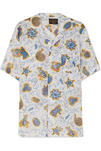 LEOWE-Paula-Print-Short-Slv-Shirt