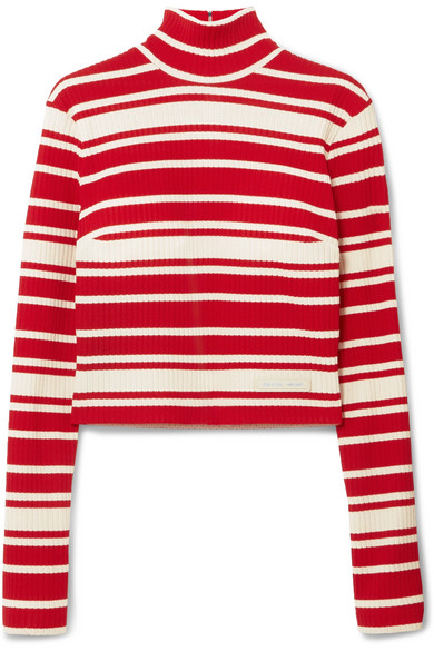 PRADA-Striped-ribbed-knit-turtleneck sweater.jpg