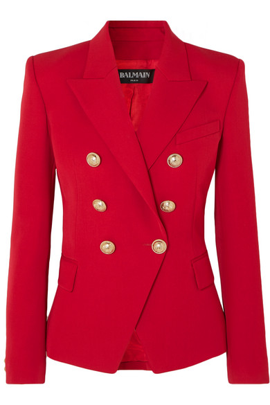 BALMAIN-Double-breasted-grain-de poudre-wool blazer.jpg