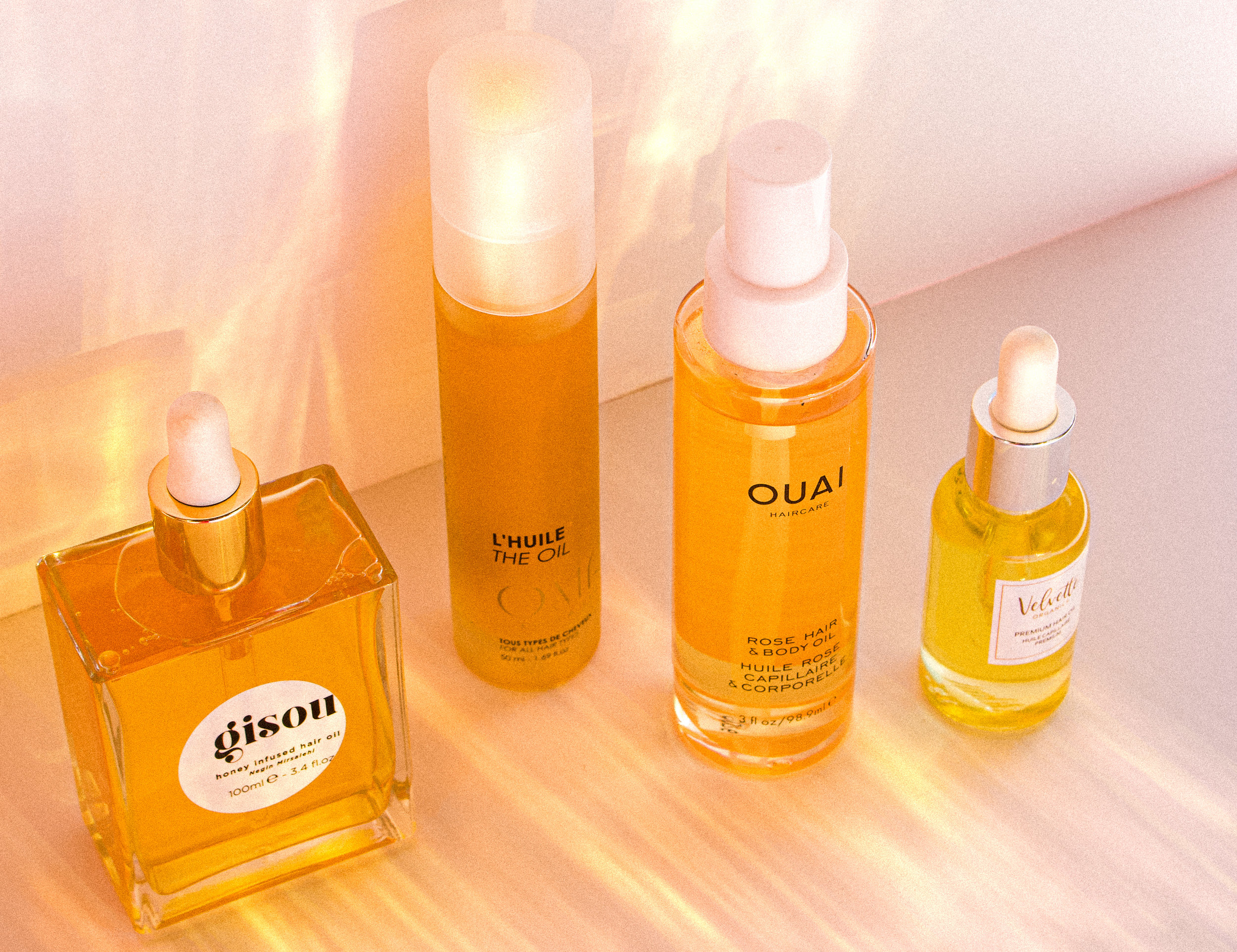 the best 4 hair oils for all hair types - The ticket to moisture rich hair and constant shine.