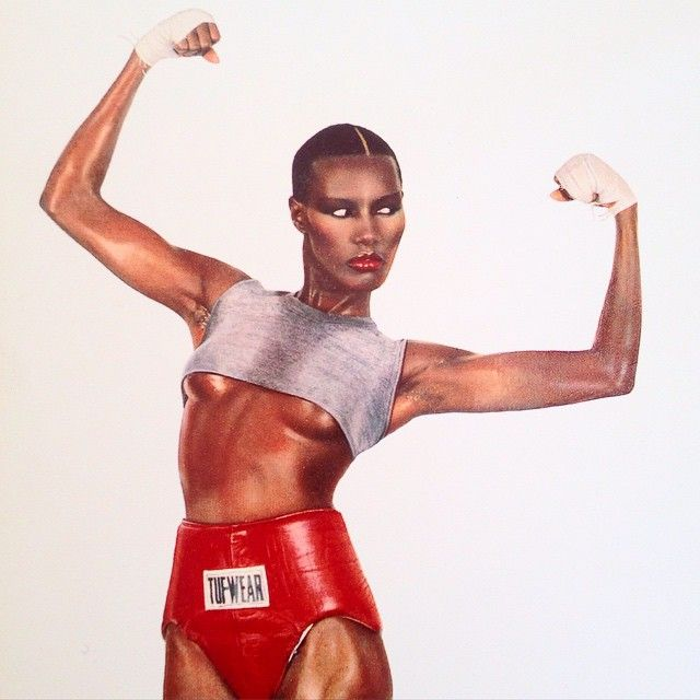 Grace Jones, Pull Up To The Bar Album. Image by Jean-Paul Goude