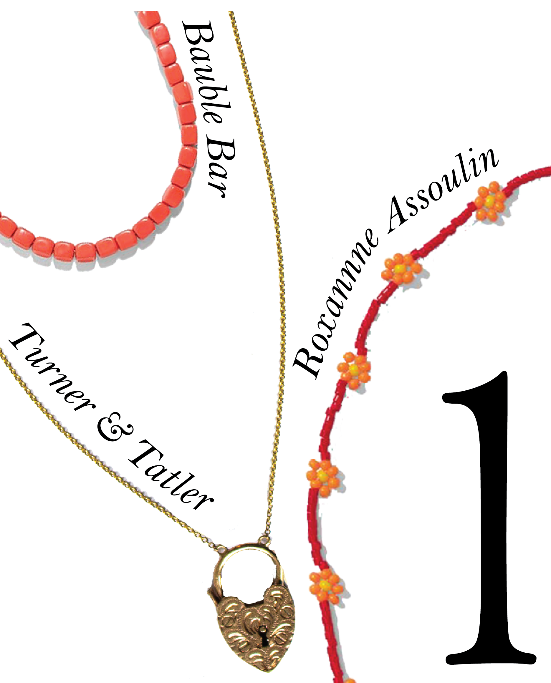 HAVE FUN THIS SUMMER WITH A STATEMENT NECKLACE - Decorate your décolletage with something vibrant and fun.