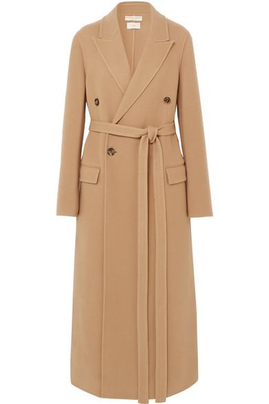 BOTTEGA VENETA Double-breasted belted cashmere coat.jpg