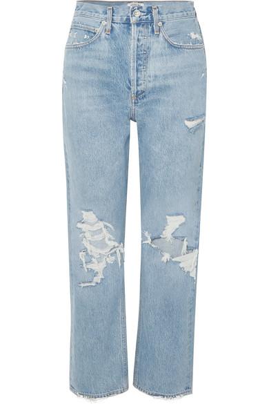 AGOLDE 90s distressed high-rise boyfriend jeans.jpg