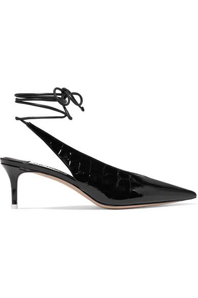 ATTICO Caterina croc-effect patent-leather pumps.jpg