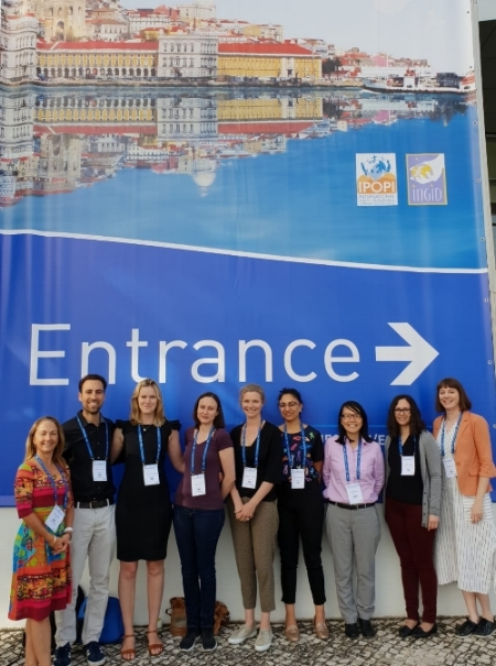 Members from the JMF centre Melbourne at the  ESID biennial meeting