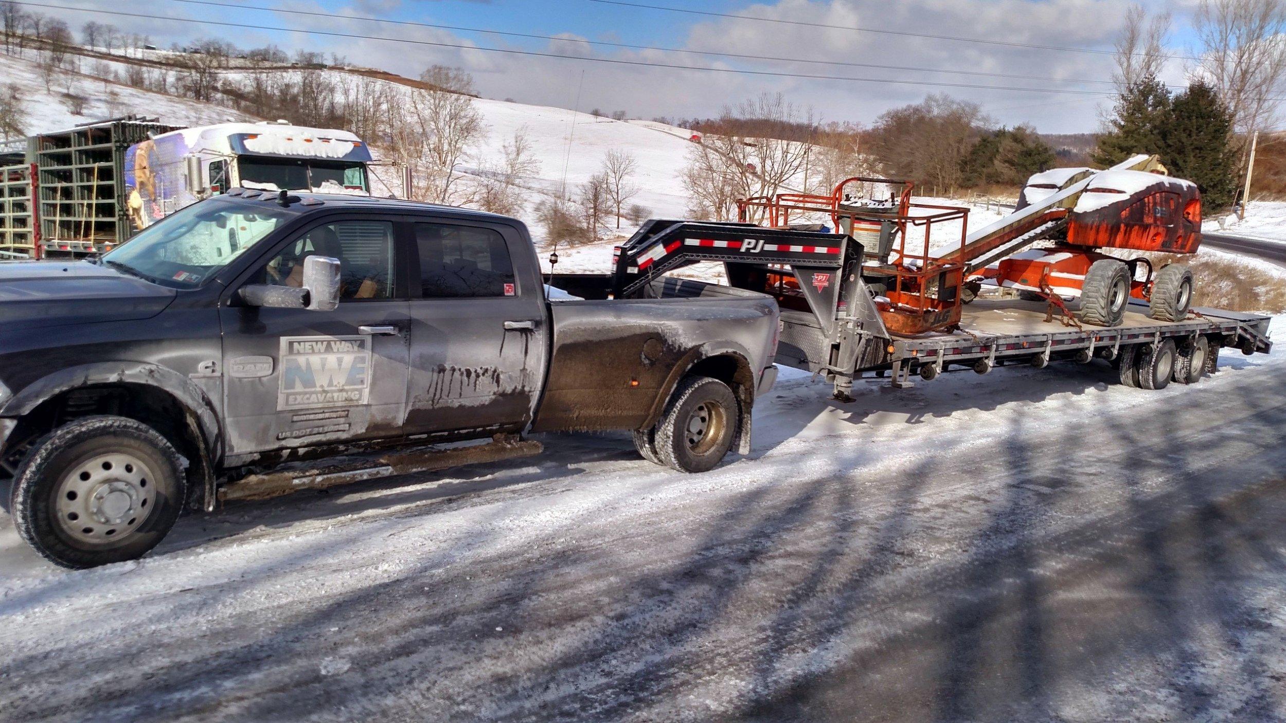 Hot Shot Trucking Service -