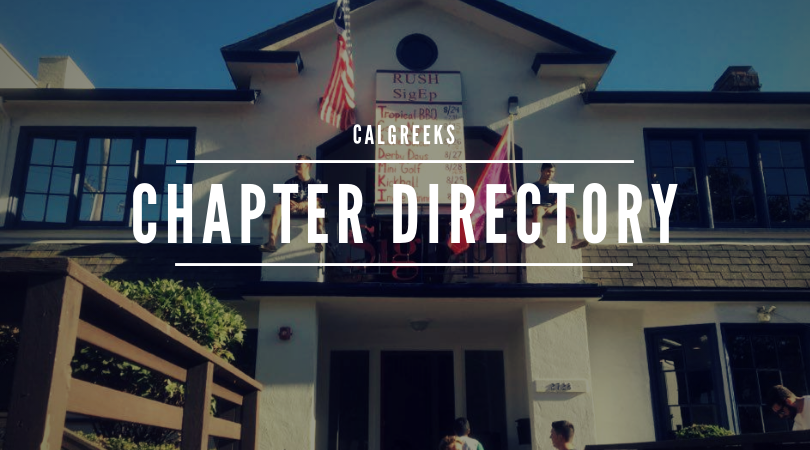 Chapters at Cal - See the full list of 33 fraternities that make up CalGreeks.
