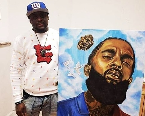 Rim The Artist - Rim the Artist is an artist from The Bronx, NYFollow Rim The Artist on Instagram: @Rim_The_Artist