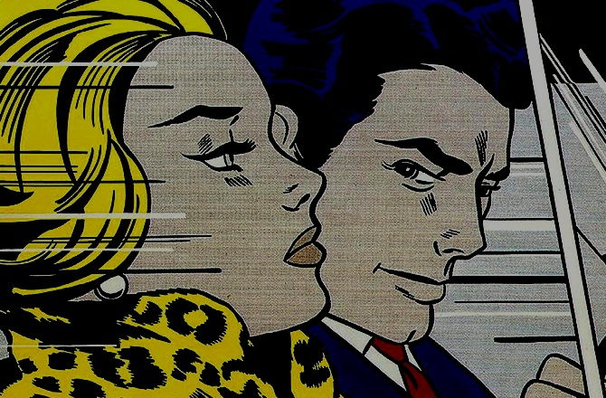 """I like to pretend that my art has nothing to do with me."" - -Roy Lichtenstein"