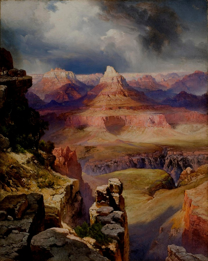 """Of all places on earth the grand canyon of Arizona is the most inspiring in its pictorial possibilities."" - -Thomas Moran"