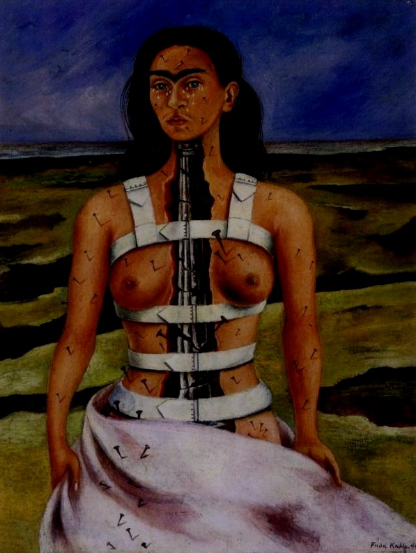 """Painting completed my life. I lost three children and a series of other things that would have fulfilled my horrible life. My painting took the place of all of this. I think work is the best."" - -Frida Kahlo"