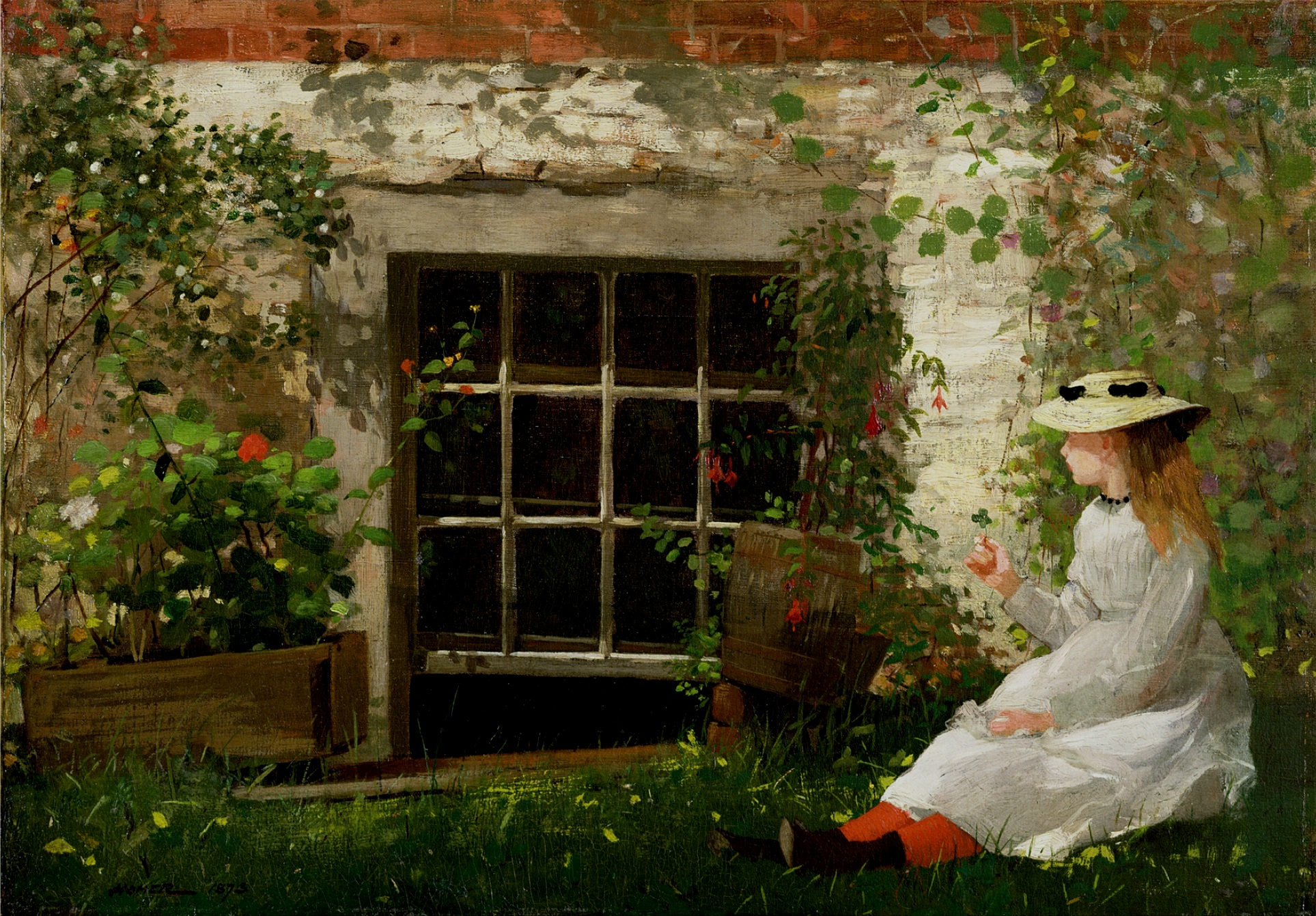 """""""When you paint, try to put down exactly what you see. Whatever else you have to offer will come out anyway."""" - -Winslow Homer"""