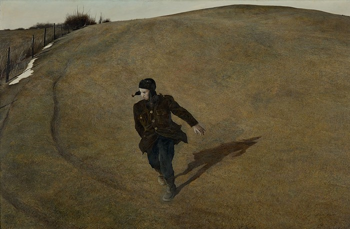 """""""One's art goes as far and as deep as one's love goes."""" - -Andrew Wyeth"""