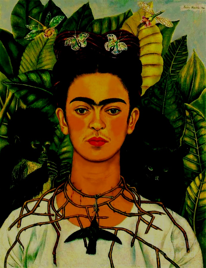 """The only thing I know is that I paint because I need to, and I paint whatever passes through my head without any other consideration."" - -Frida Kahlo"