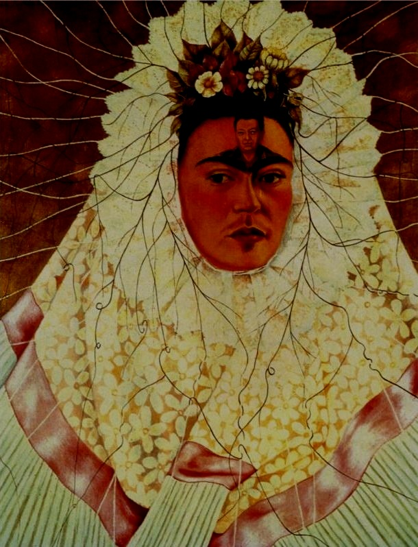 """Painting completed my life."" - -Frida Kahlo"