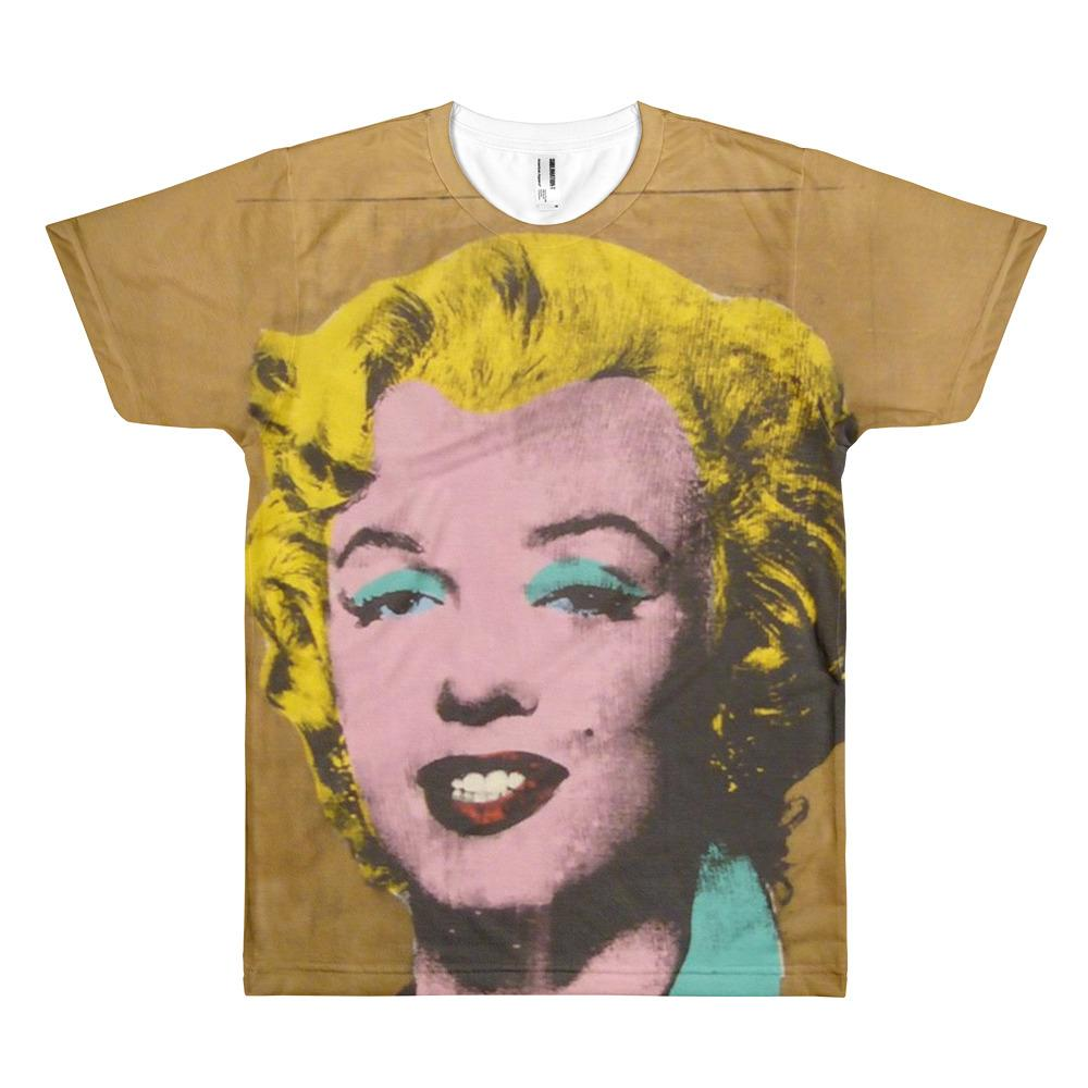 Andy Warhol Gold Marilyn Sublimation Tee.jpg