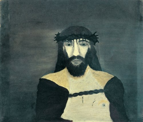 Christ Crowned with Thorns (1938) - Horace Pippin