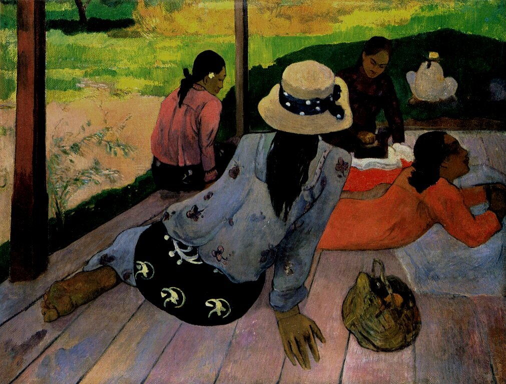 """Art is either revolution or plagiarism"" - -Paul Gauguin"