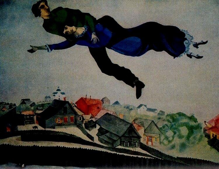 """""""Art must be an expression of love or it is nothing"""" - -Marc Chagall"""