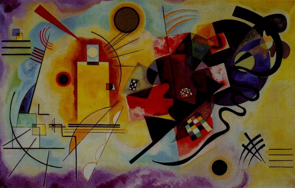 """The artist must train not only his eye but also his soul."" - -Vassily Kandinsky"
