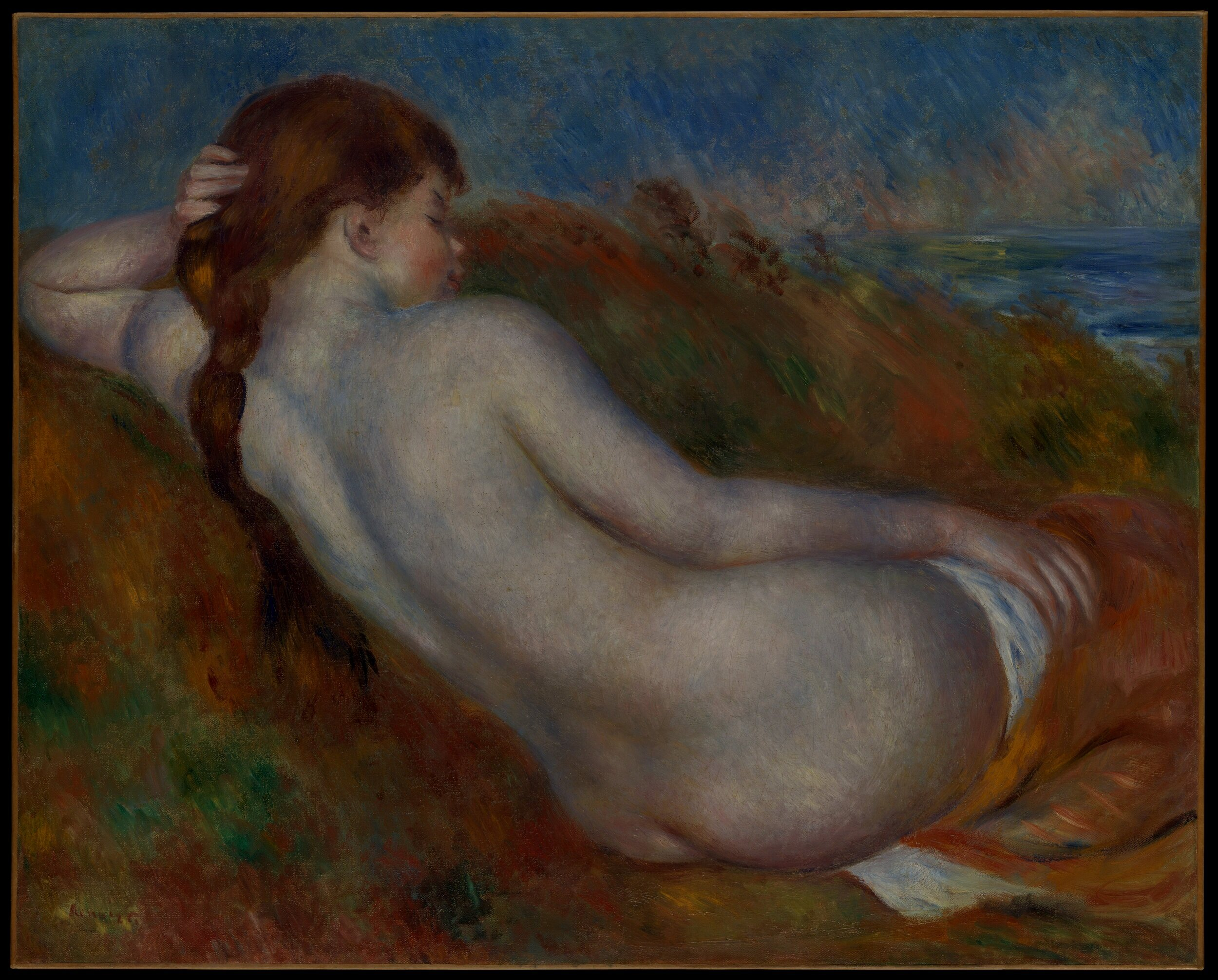 """""""It's with my brush that I make love."""" - -Auguste Renoir"""
