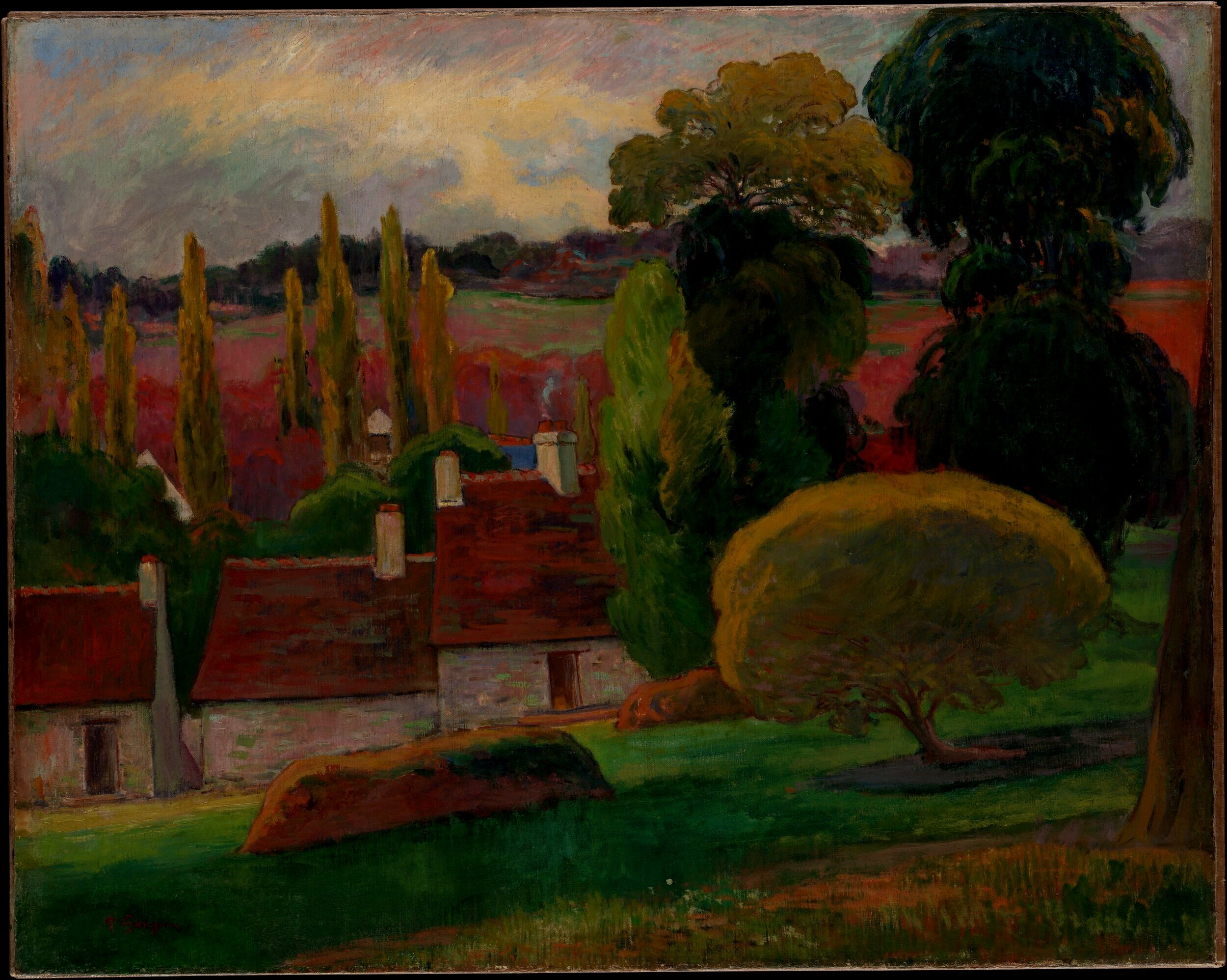 """""""How do you see this tree? Is it green?...Don't be afraid to paint it as green as possible."""" - -Paul Gauguin"""