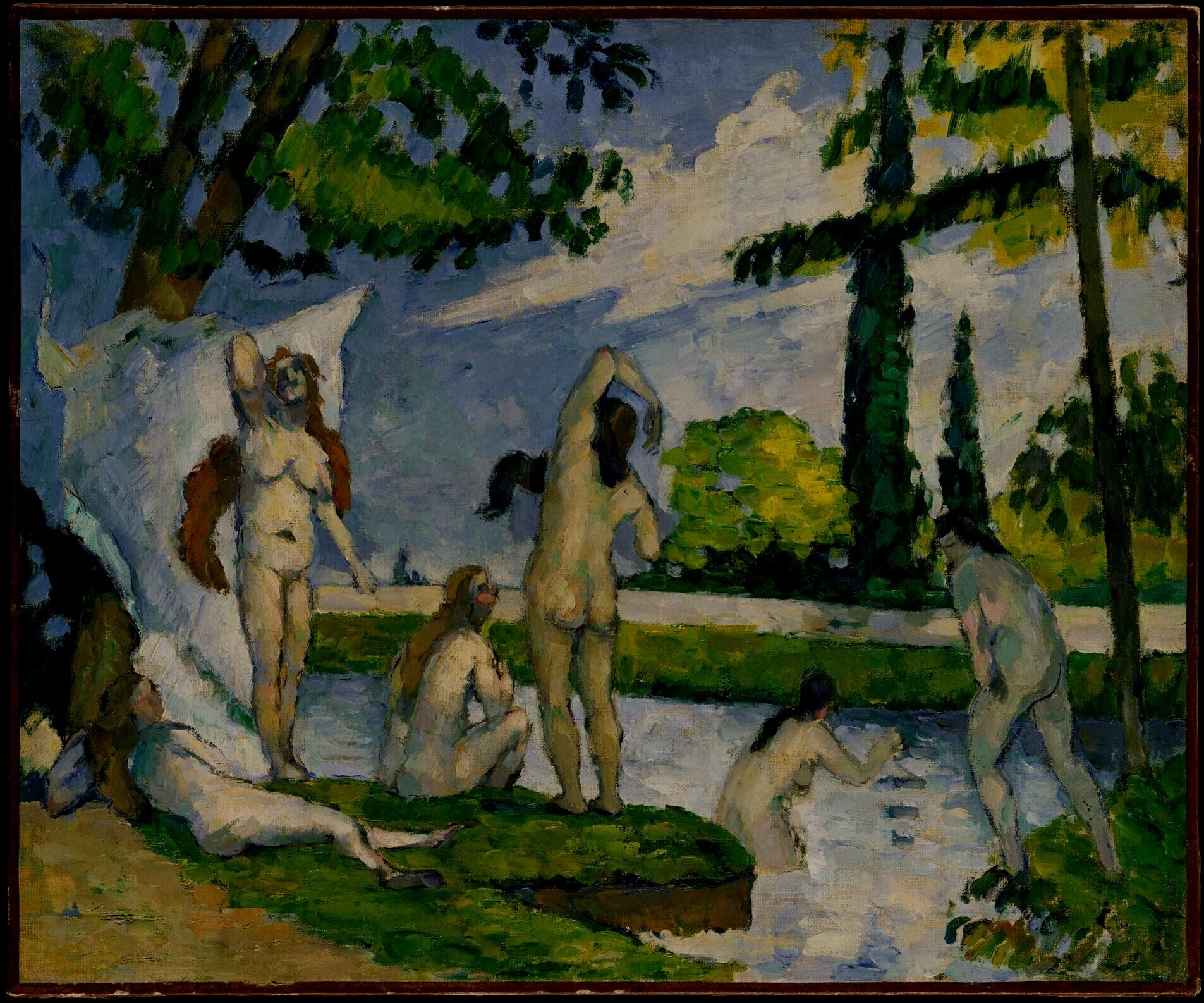 """""""Art is a harmony parallel with nature."""" - -Paul Cezanne"""
