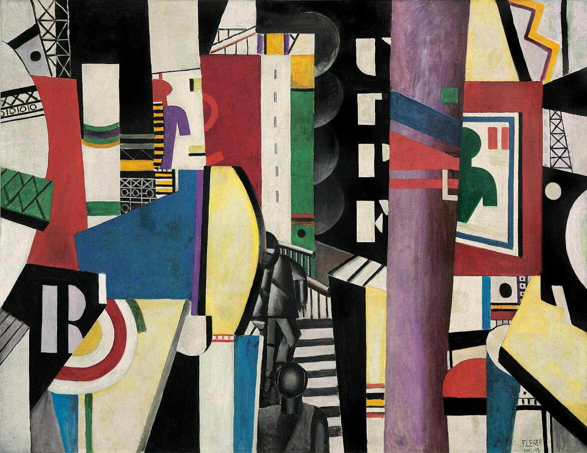 The City (1911) by Fernand Léger