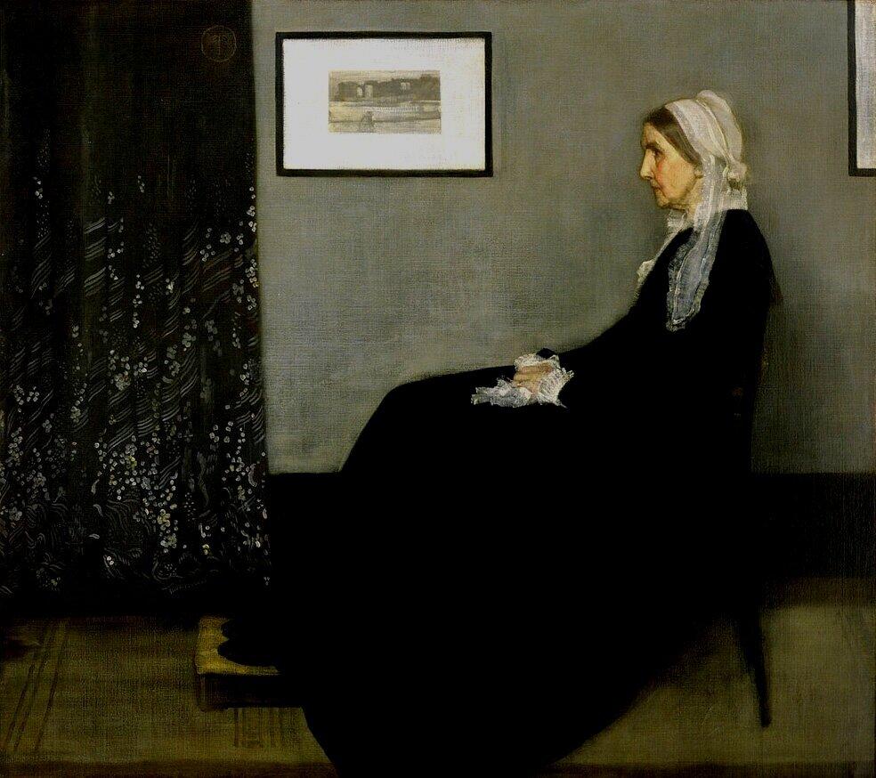 Whistler's Mother (1871) by James Abbott McNeill Whistler