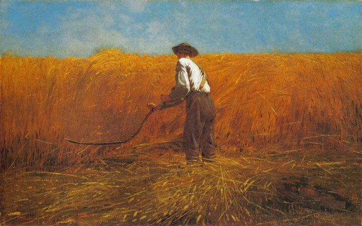 The Veteran in a New Field (1865) by Winslow Homer