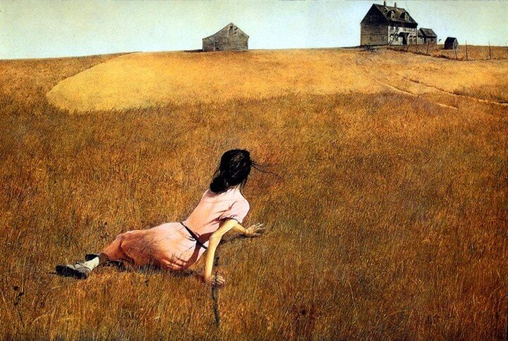 Christina's World (1948) by Andrew Wyeth