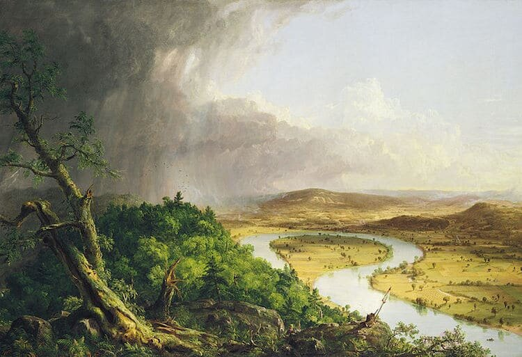 View from Mount Holyoke, Northampton, Massachusetts, After A Thunderstorm (1836) by Thomas Cole
