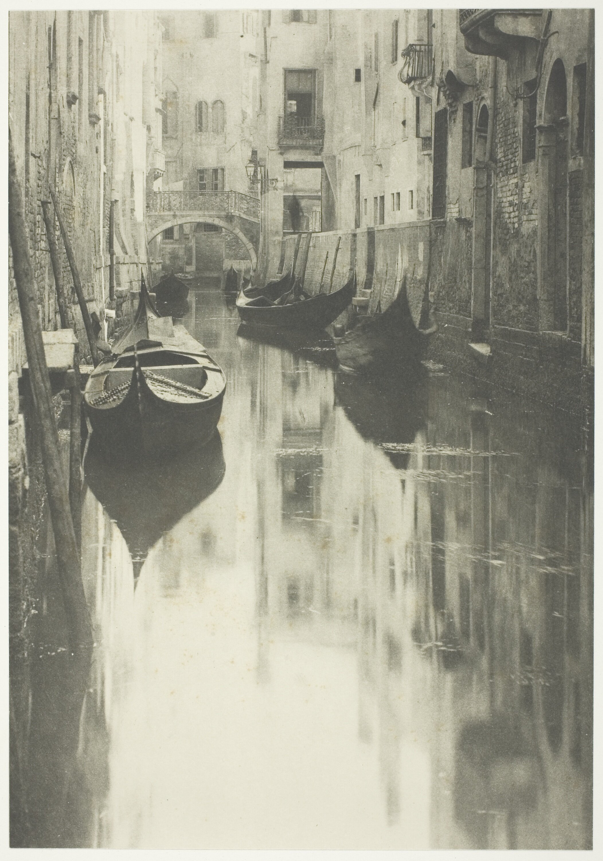 A Venetian Canal, 1894 Alfred Stieglitz