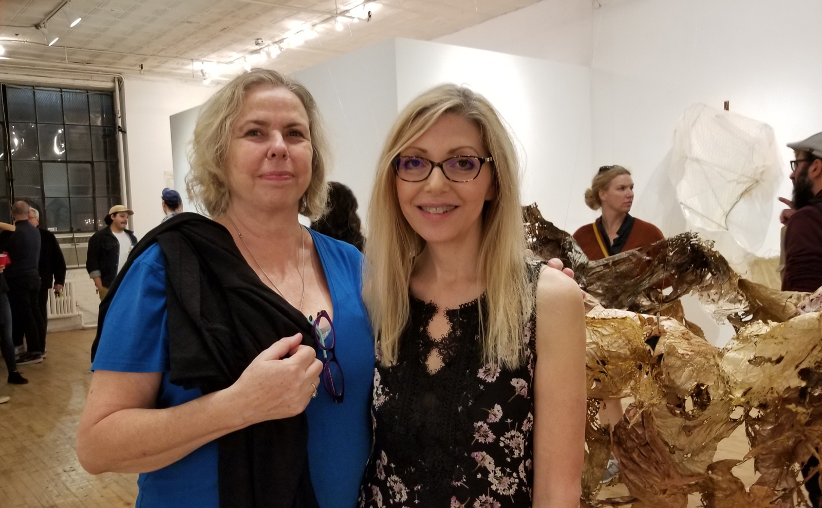 Bonny and Lizbeth at the opening.jpg