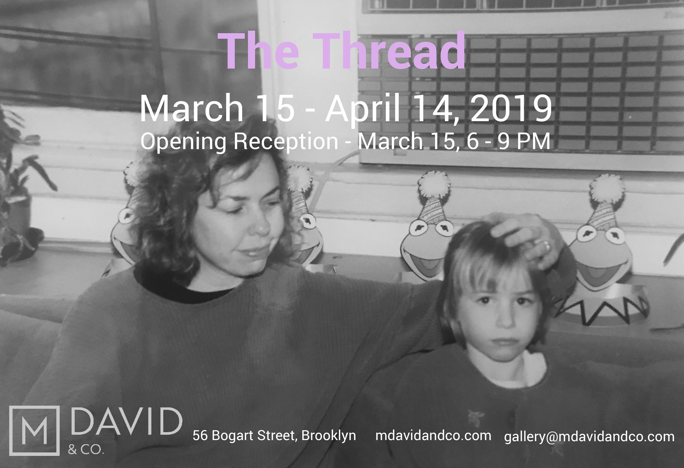 THE THREAD - Paintings by Lizbeth Mitty & Dana James - March 15th - April 21st, 2019Bushwick Daily by Becca Beberaggi Bushwick Gallery Explores Mother-Daughter Artist Duo's Relationship for Women's History MonthArt & Object by Lilly Wei The Thread